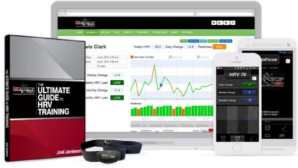 BioForce HRV System Package - Heart Rate Monitor To Optimize Your Training